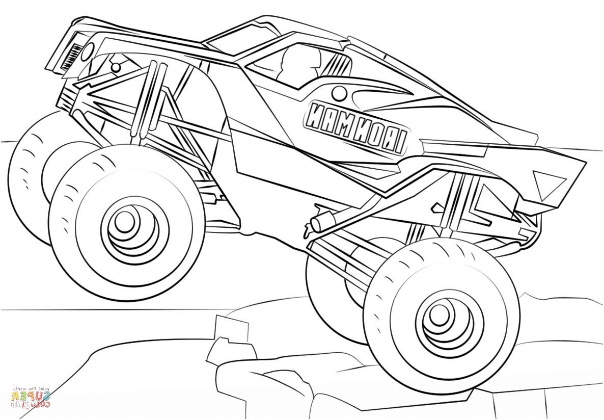 10 Fabuleux Coloriage Monster Truck Gallery Monster Truck