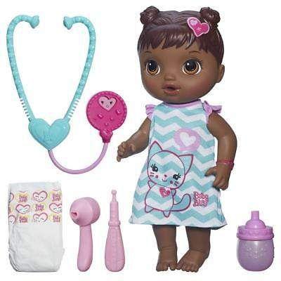 Baby Alive Better Now Bailey Dark Brown Hair Baby Alive Cool Baby Stuff Baby Alive Dolls