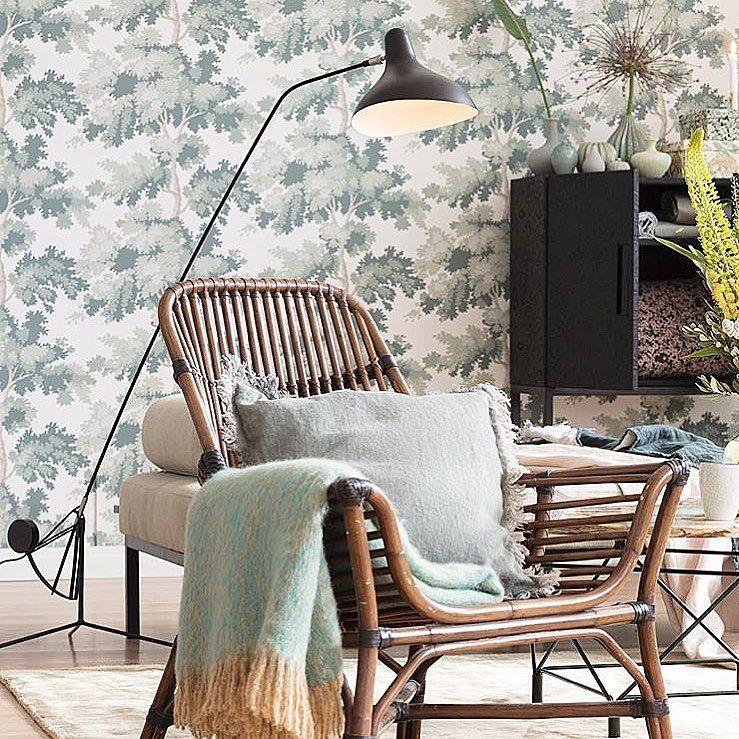 Beach Bedroom Furniture Bedroom Remodel Batman Bedroom Wallpaper Scandinavian Bedroom Curtains: Beautiful Use Of Our Wallpaper Raphael In This Livingroom