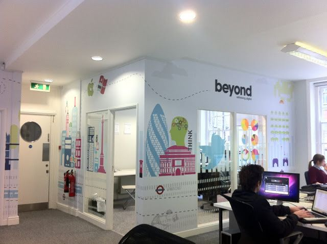 Beyond Office. Wall Graphics | Interior Wallpaper/Murals ...