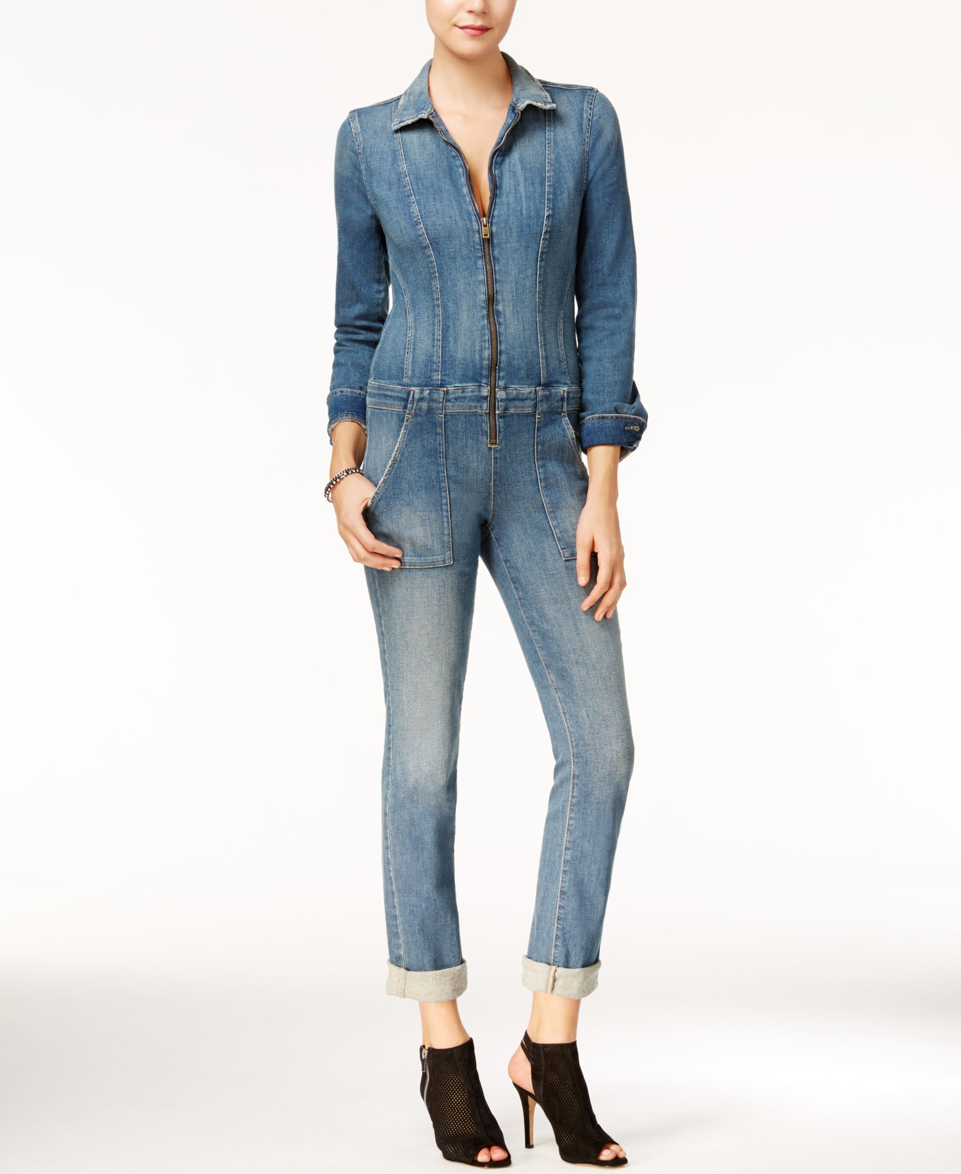 d9ccf3a8b4 Guess Lexie Retro Denim Jumpsuit | Shopping Wish List | Denim ...