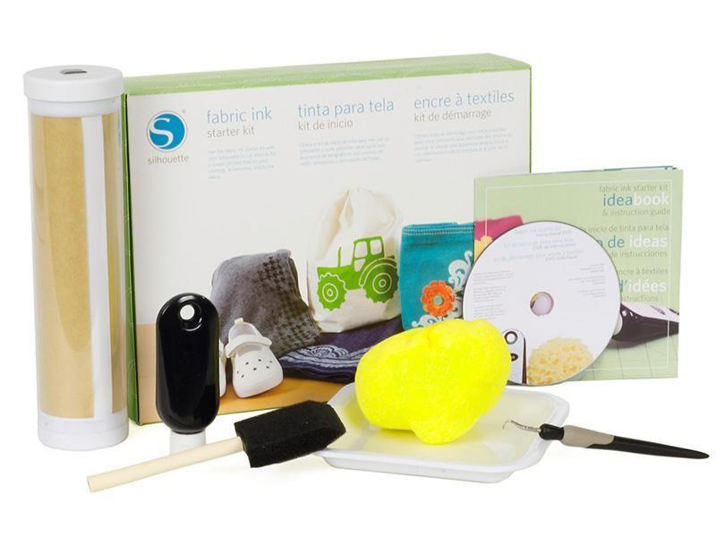 Fabric Ink Starter Kit | Silhouette America #Wishlist