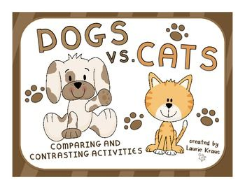 comparison and contrast essay on cats and dogs