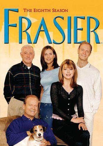 Frasier The Complete Eighth Season 4 Discs Dvd Best Buy Jane Leeves Kelsey Grammer Old Tv Shows