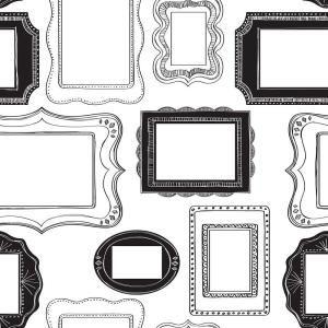 Nuwallpaper Black And White Photo Opp Frames Peel And Stick Wallpaper Sample Nu1661sam The Home Depot Muurschildering Wayfair Muurkleuren