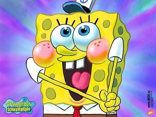 Spongebob Squarepants Wallpaper: happy sponge!