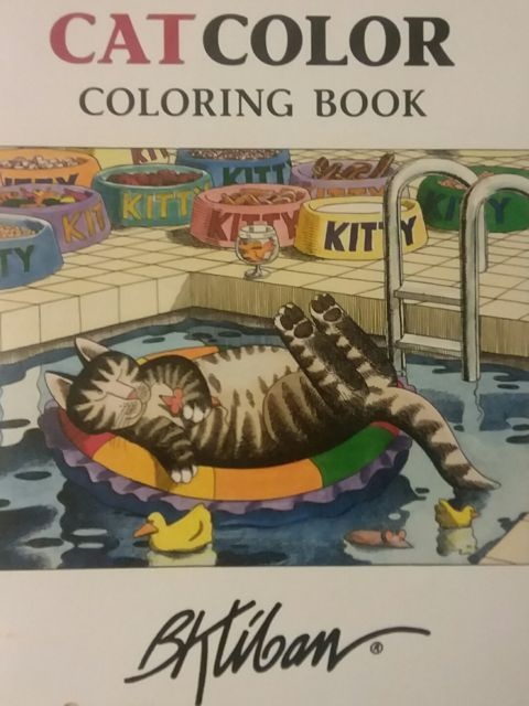 CatColor Coloring Book By B Kliban Paperback English