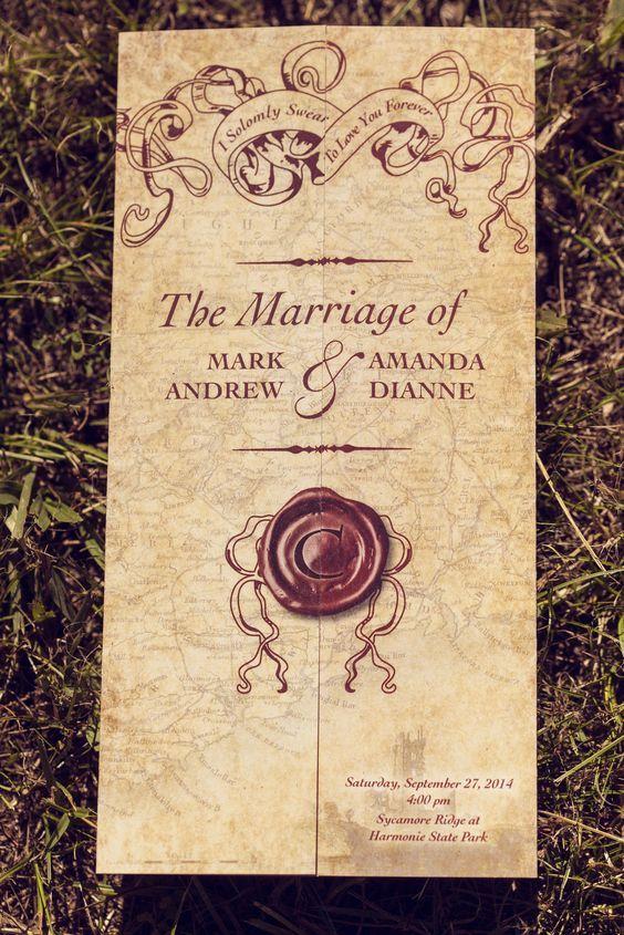 20 Magical Harry Potter Wedding Ideas Literary Wedding Ideas