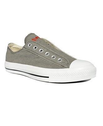 Laceless sneakers, Converse men