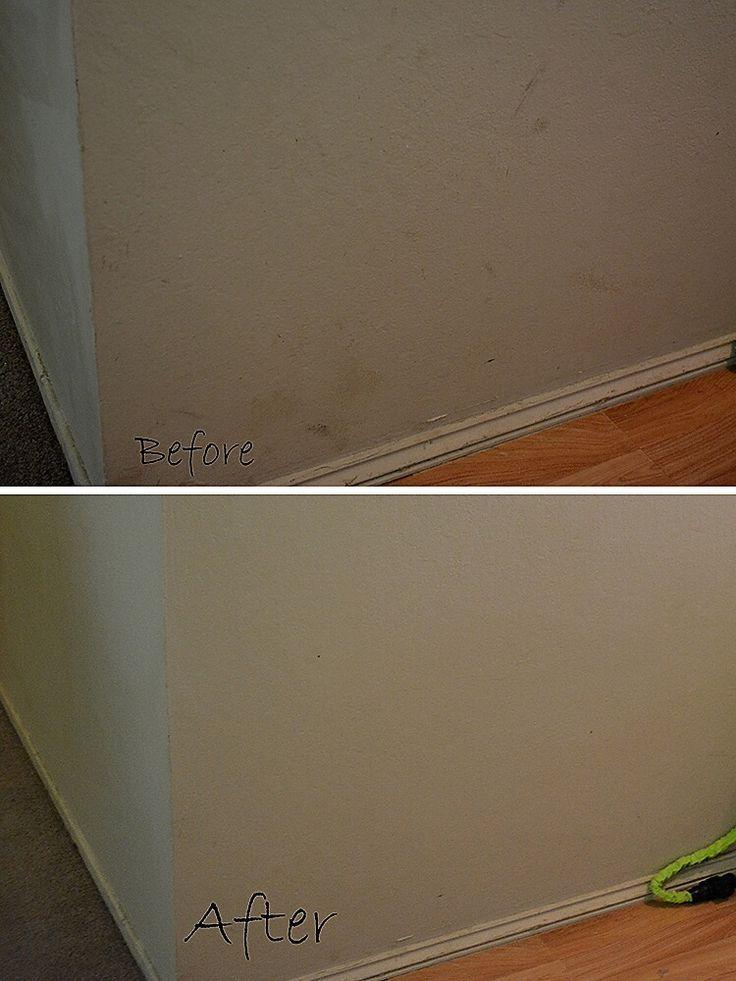 How To Get Marks Off Of Flat Paint Walls 1 Mr Cleans Magic Erasers Yes They Do Work Wonders 2 Hot Wash Cleaning Walls House Cleaning Tips Cleaning Hacks
