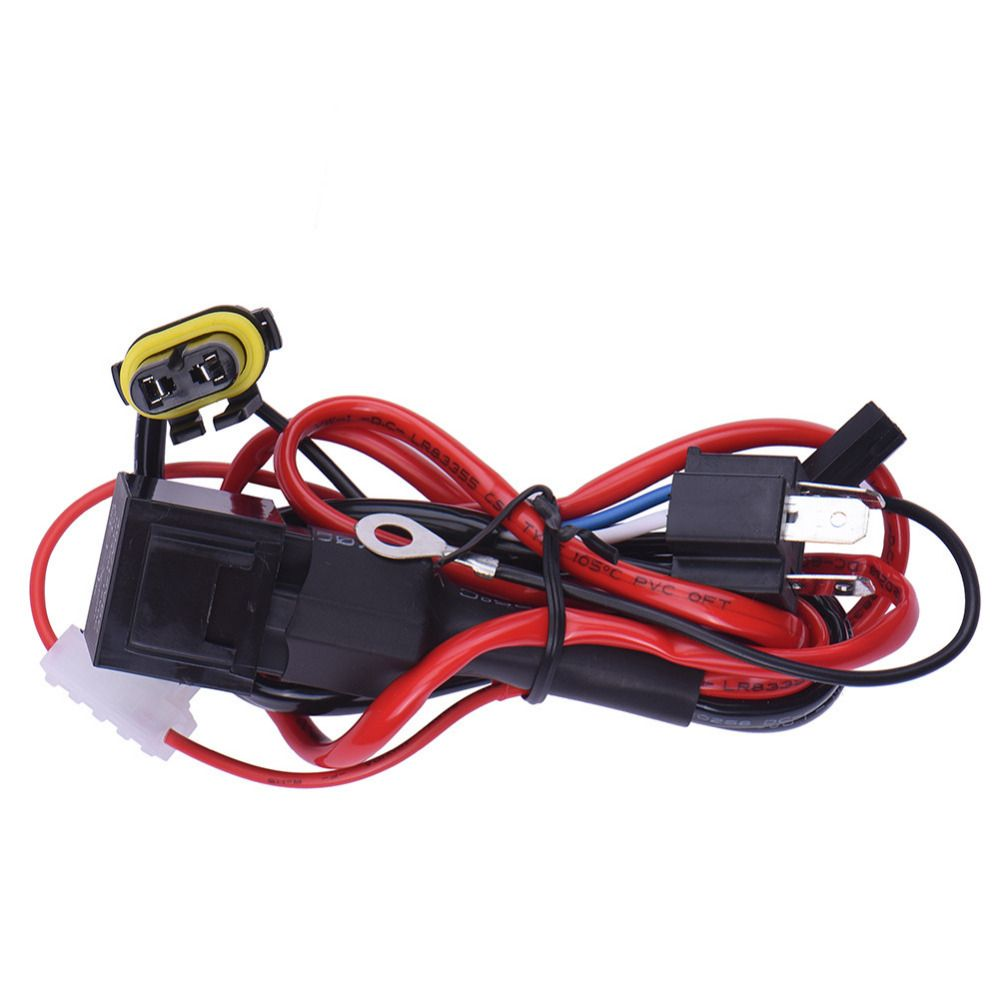 new h4 9003 conversion kit hid hi lo bi xenon bulb relay controller plug socket wiring cable harness [ 1000 x 1000 Pixel ]