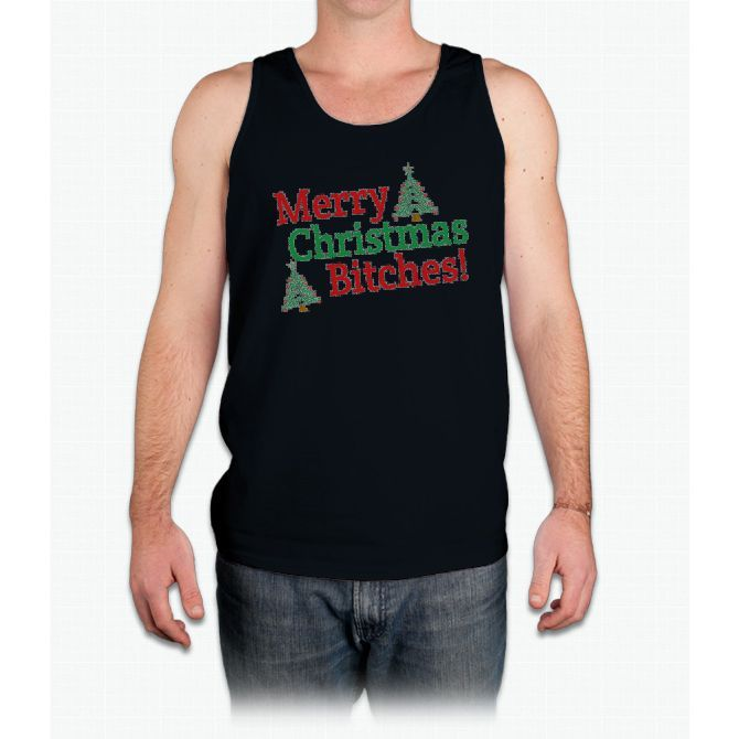 Merry Christmas Bitches - Mens Tank Top