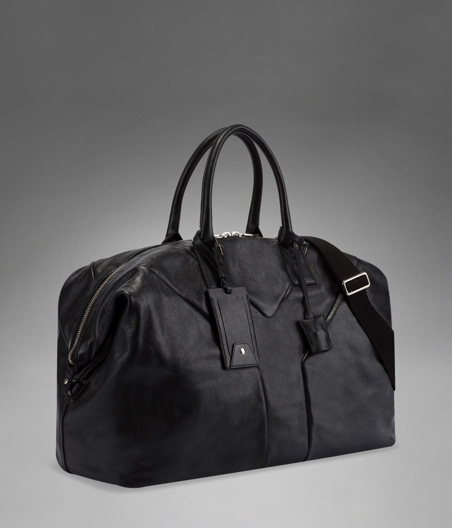 39f145a3a1 YSL Hamptons Travel Bag in Black Leather - Travel – Bags – Men – Yves Saint  Laurent – www.ysl.com