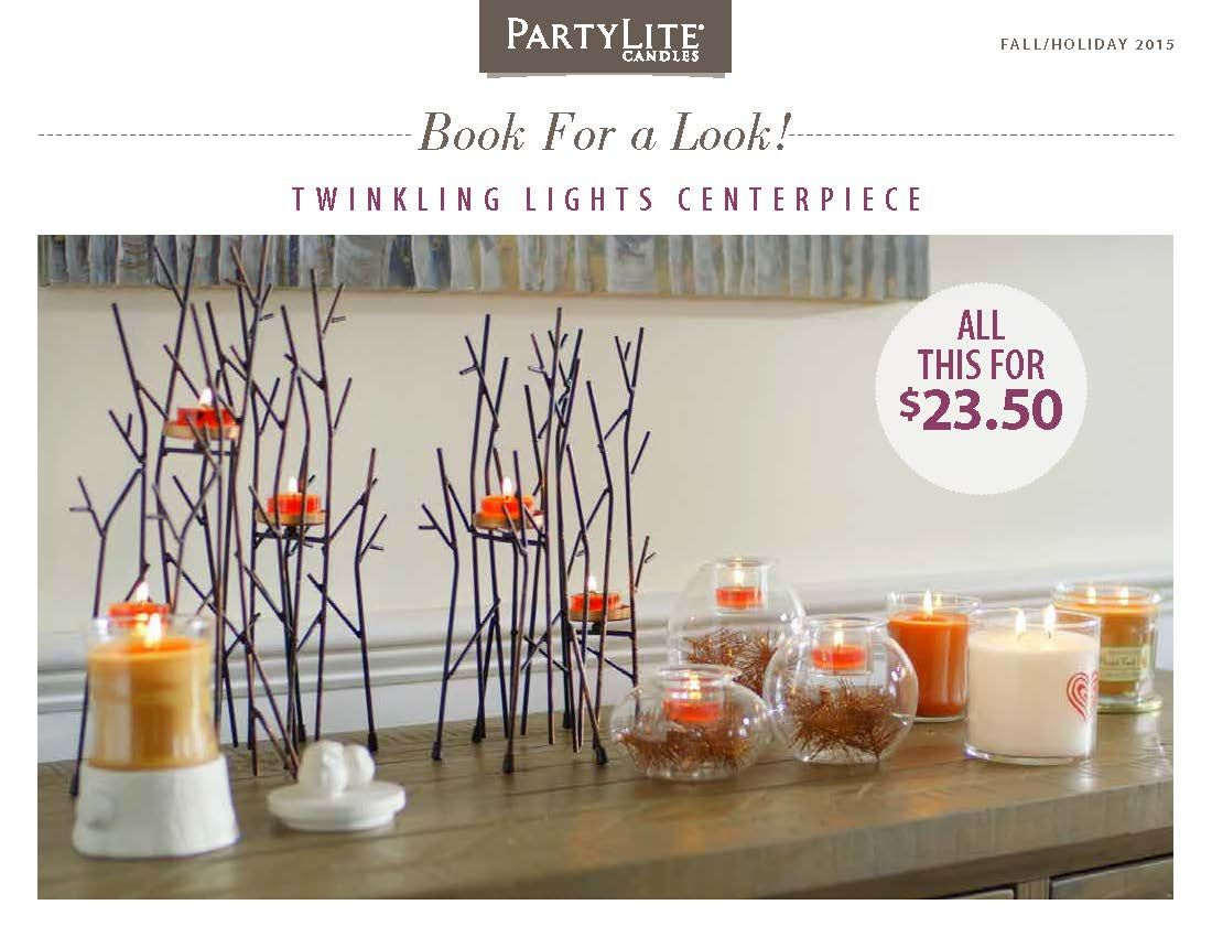 Twinkling Twigs Centerpiece -  Decorating is made easy with the Twinkling Lights Centerpiece.   Modern with clean lines – works in a modern décor,  traditional or rustic theme. Multiple points of light add just the right mood to any room.