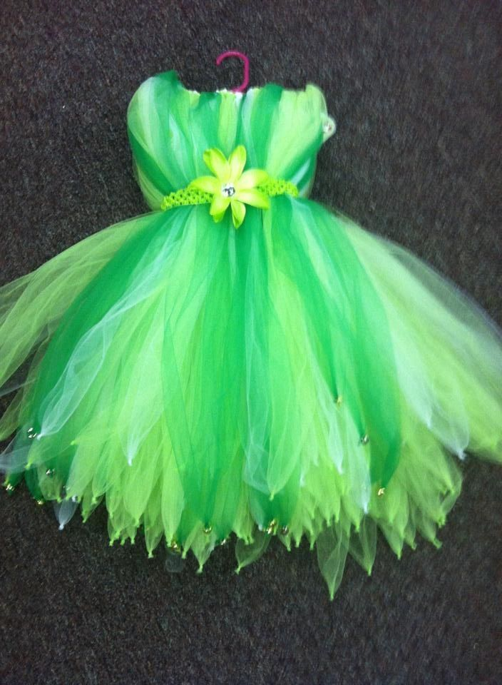 Tinkerbell Tutu dress Totally for my little pixie!