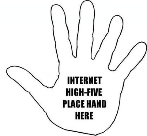 Comics 10 Internet High Five High Five Day National High Five Day