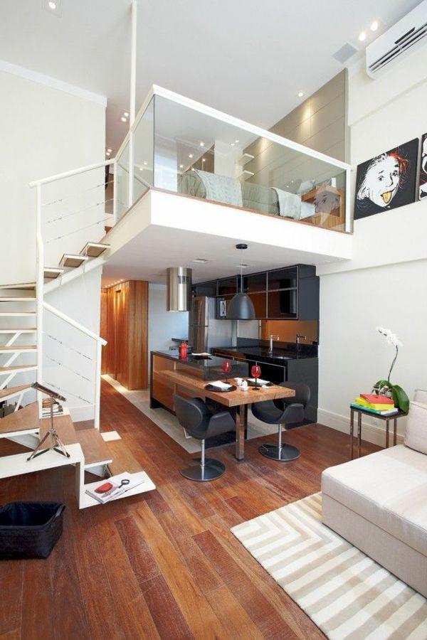 Choisir un escalier pour mezzanine pour son loft | Aménager ...