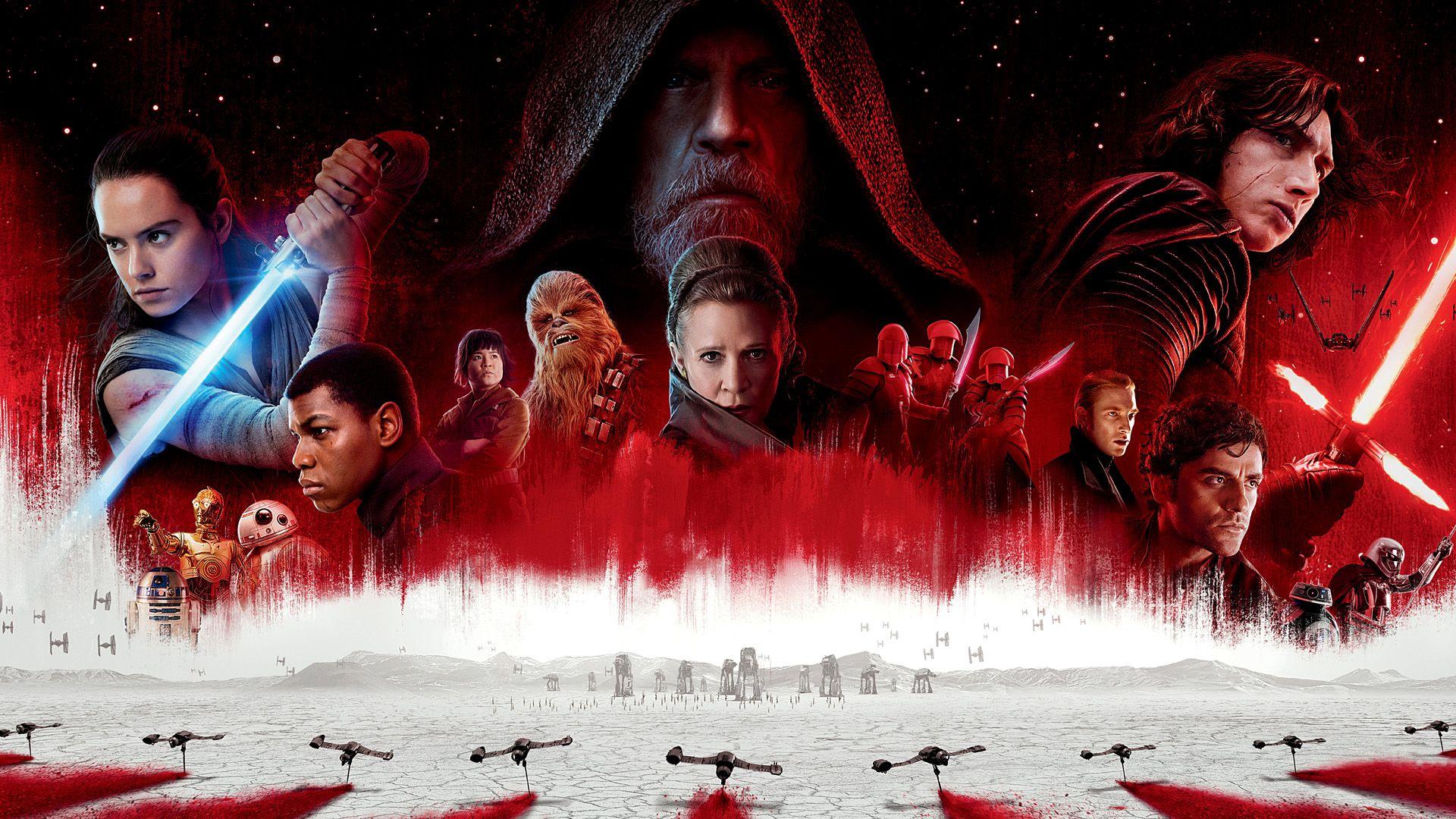 Star Wars Episode Viii The Last Jedi Star Wars Wallpaper Star Wars Film Star Wars Episodes