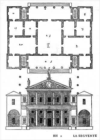 Villa Valmarana in Lisiera of Bolzano Vicentino, Vicenza