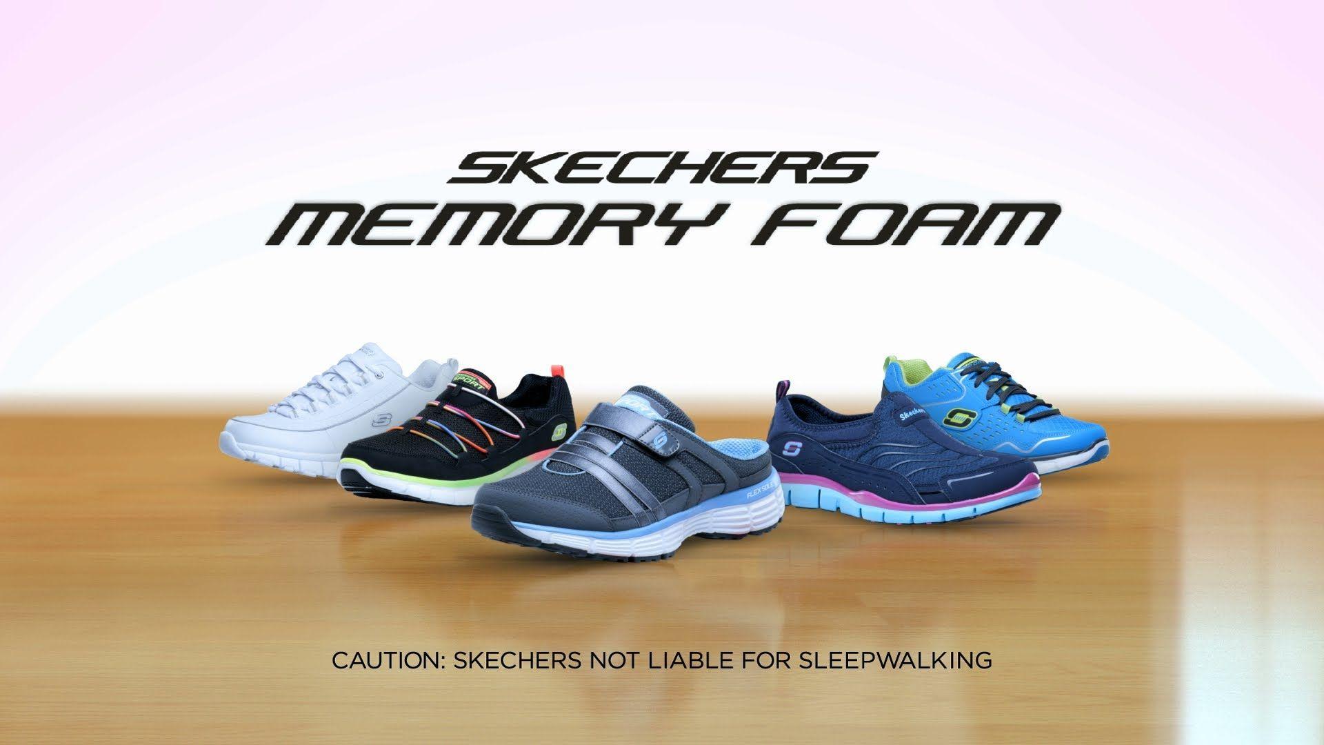 skechers slip resistant commercial