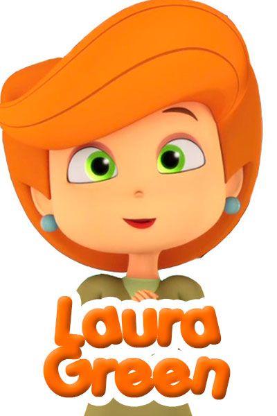 Laura Green, personajes dibujos Pumpkin Reports