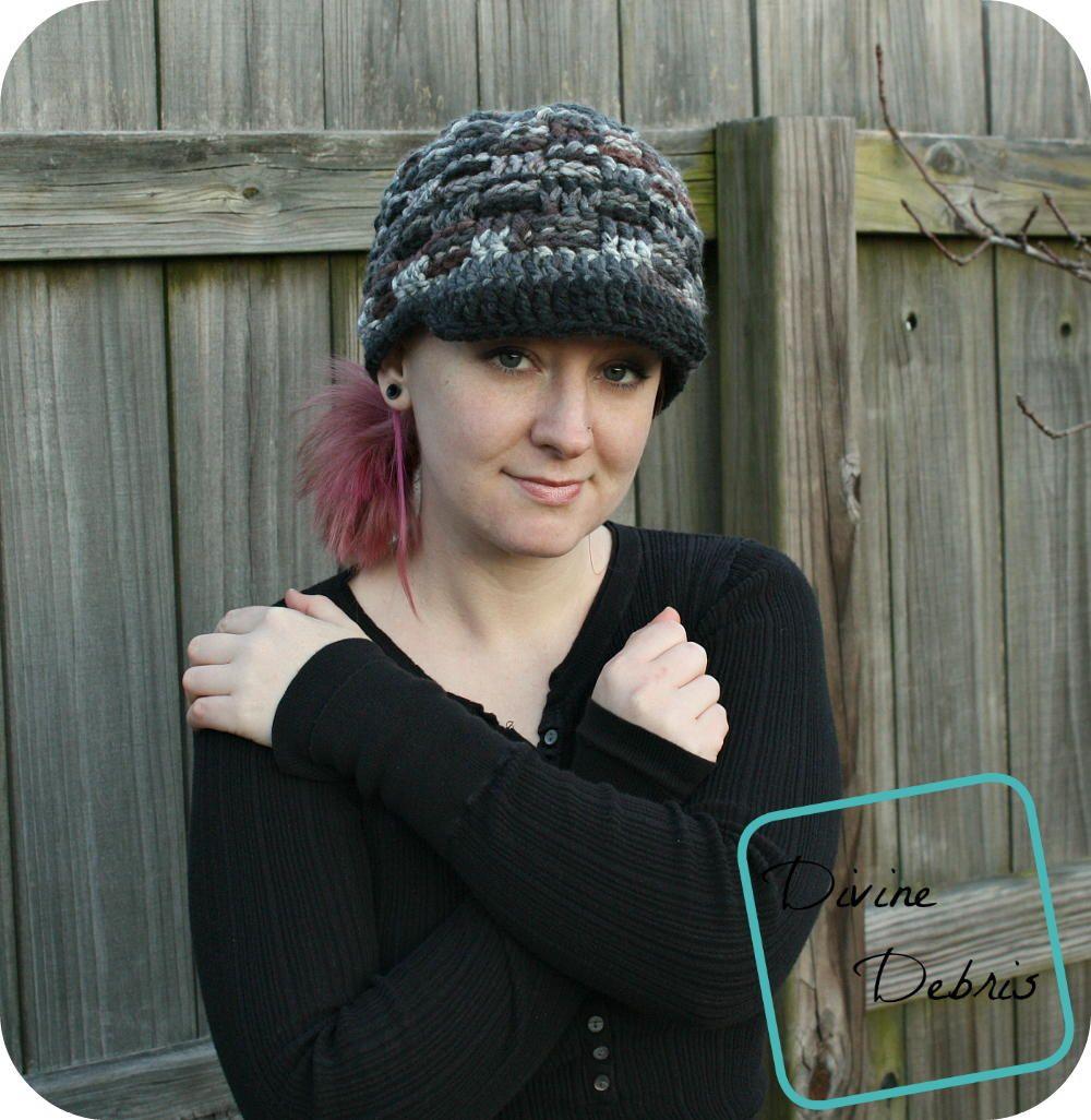 Becca Newsboy Crochet Hat   Crochet, Free crochet and Patterns