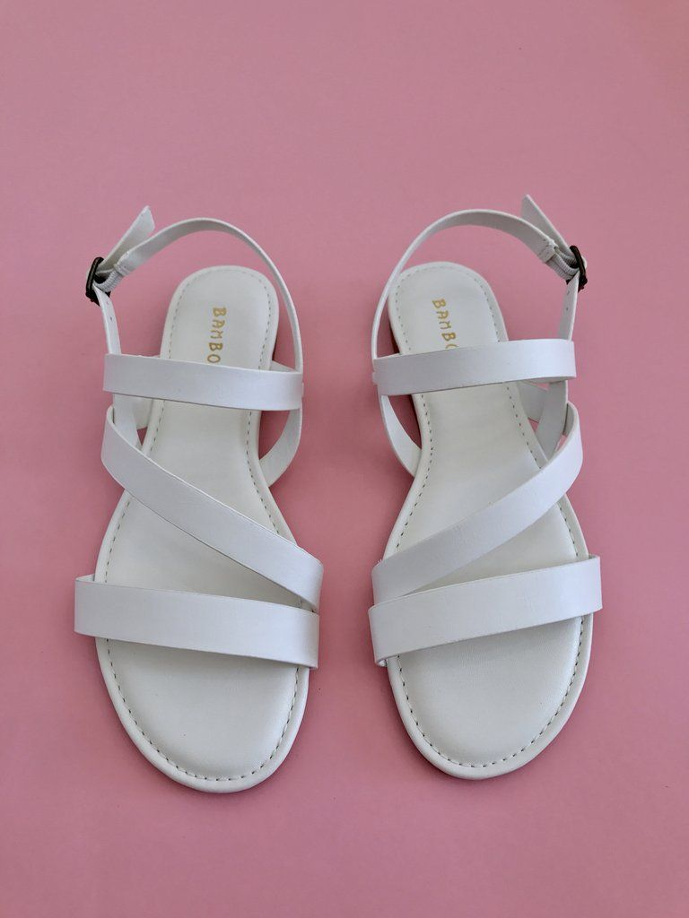 Tiras Blancas Sandalia Oh De MyStoreShoes Blanca Sandalias N8kw0nPOX