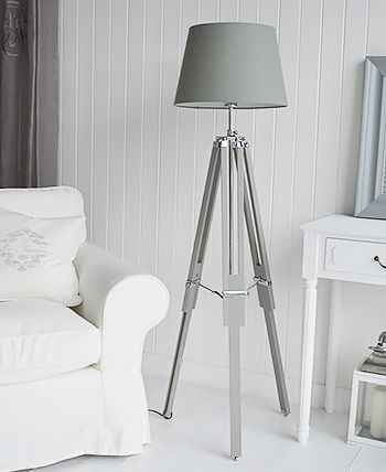 Floor And Table Lamps For Your Cottage Home. Bedside Table Lamps For Shabby  Chic Bedroom From The White Cottage