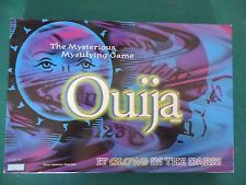 GLOW IN THE DARK PARKER BROTHERS/HASBRO OUIJA BOARD