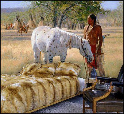 Native American wall murals. Native American wall murals   Native American Indians   Pinterest