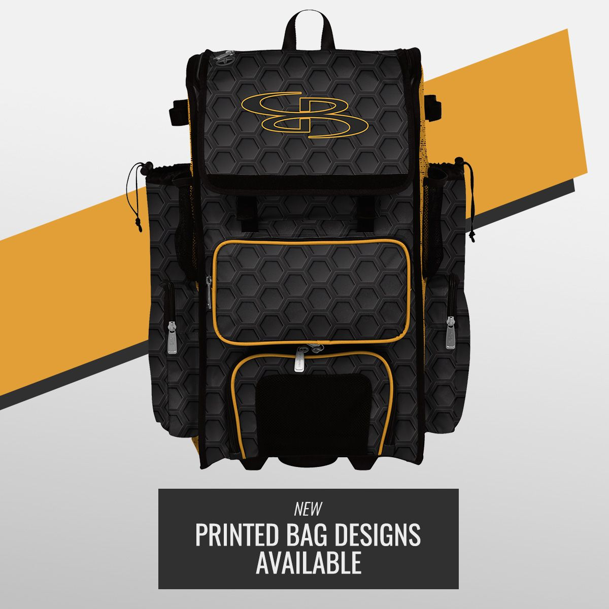 New Printed Designs For Both Bat Bags And Backpacks Are Now Available Baseball Bag Volleyball Gear Bags
