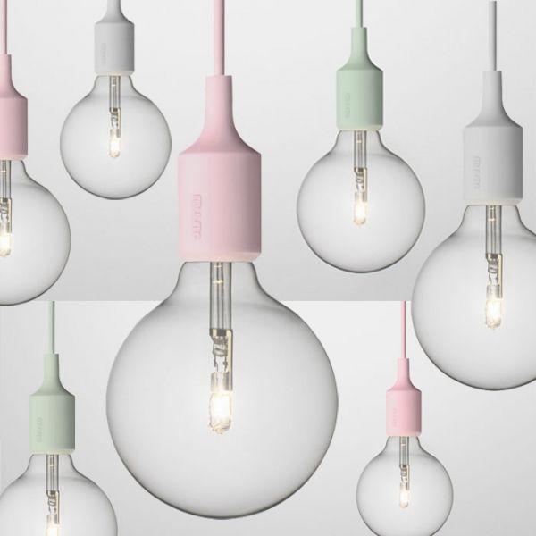 Suspension E27 pastel - Muuto | Light | Pinterest | Luminaires ...