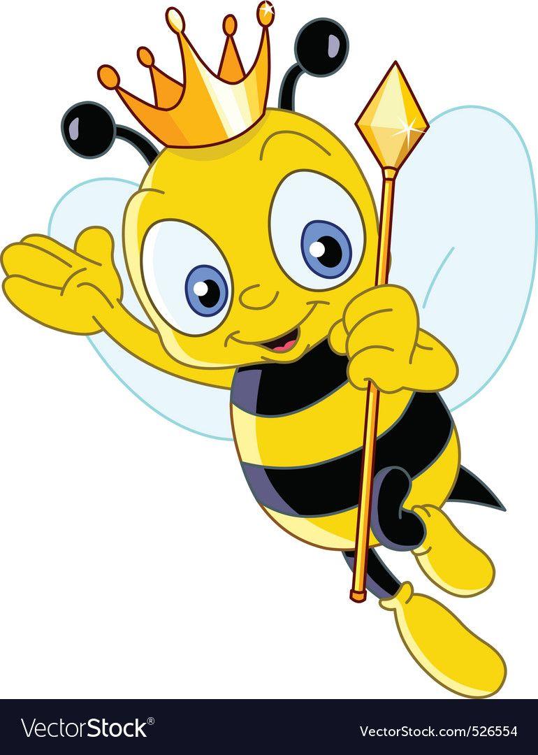 Queen Bee Scrapbooking Google Search Cartoon Bee Bee Pictures Bee Art