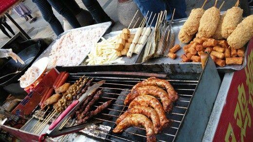중국 길거리음식