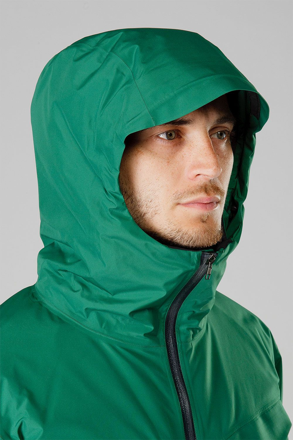 Insulated Shell Jacket Insulated Hood Outer Layer