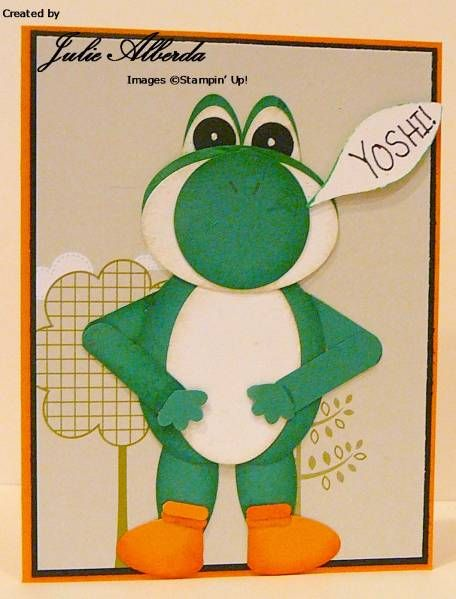 Yoshi birthday card cards and such pinterest birthday cards yoshi birthday card bookmarktalkfo Image collections