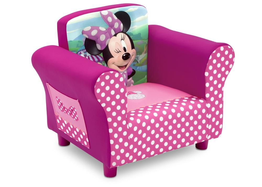 Minnie Mouse Upholstered Chair Upholstered Chairs Toddler Chair Kids Sofa