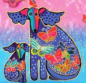 the late Laurel Burch