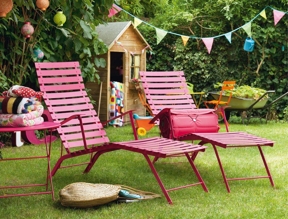 Chaise Longue Bistro Chaise Longue De Jardin Fermob Garden Furniture Outdoor Deck Furniture