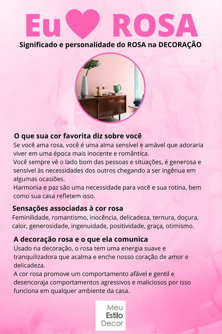 Personalidade e significado do rosa na decoração | tudo rosa ...