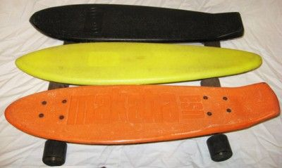 The Yellow One Is My Very First Skateboard 1975 Or So Short