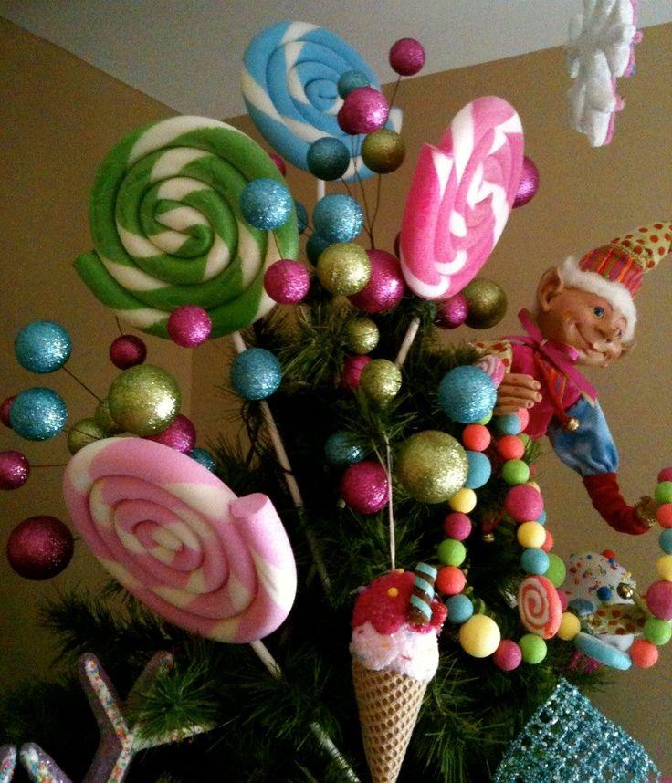 Como decorar un arbol de navidad con dulces buscar con - Como decorar un arbol de navidad ...