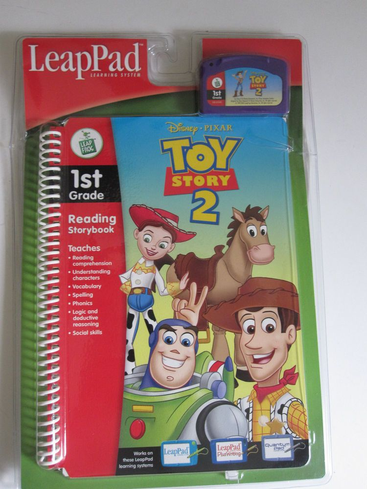 LeapPad Disney Pixar Toy Story 2 Reading Storybook And Cartridge 1st Gr. Sealed #LeapFrog | My ...