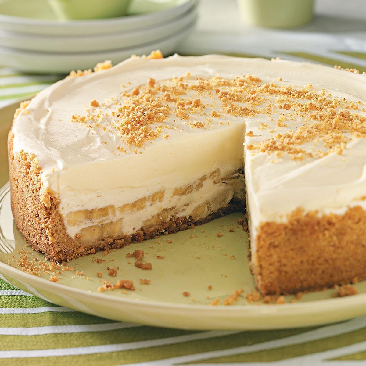 Banana cream cheesecake recipe banana cream cheesecake