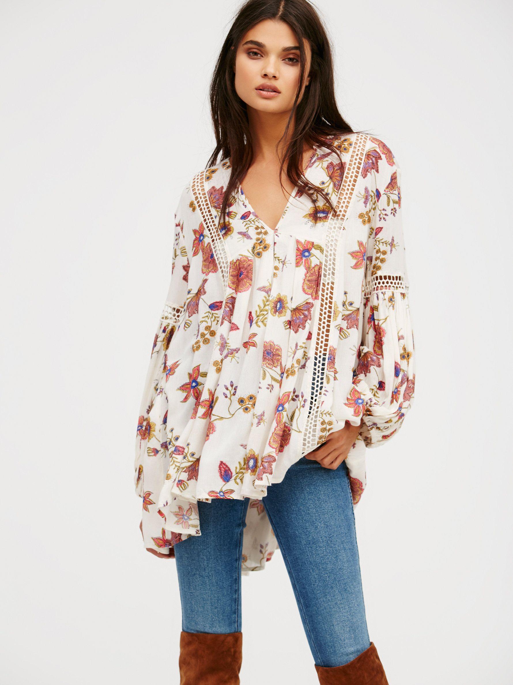 Para Flores Amplia Moderna Y Mujer Camisola Free De Moda YTqx5w