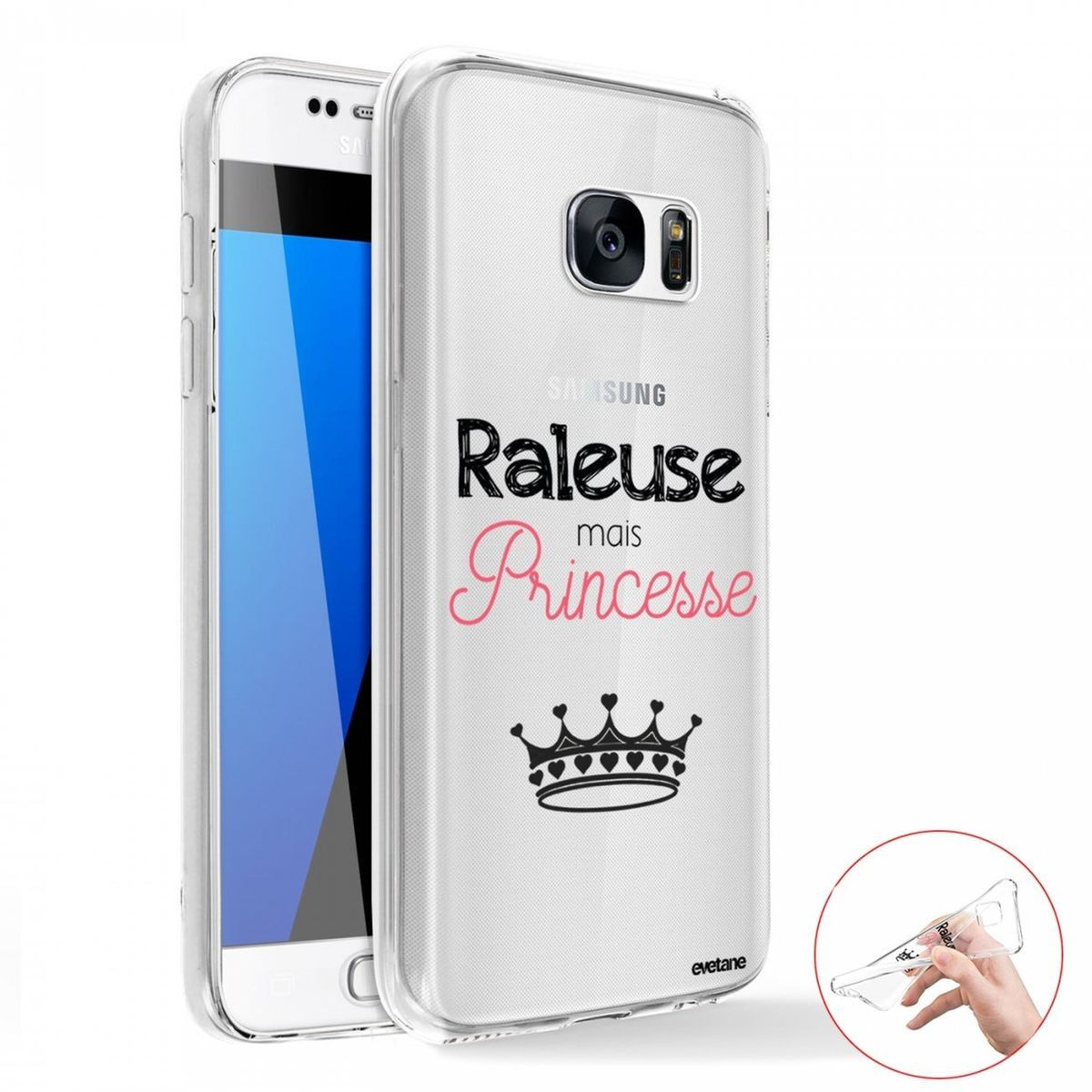 Coque Samsung Galaxy S7 Edge 360 intégrale avant arrière ...