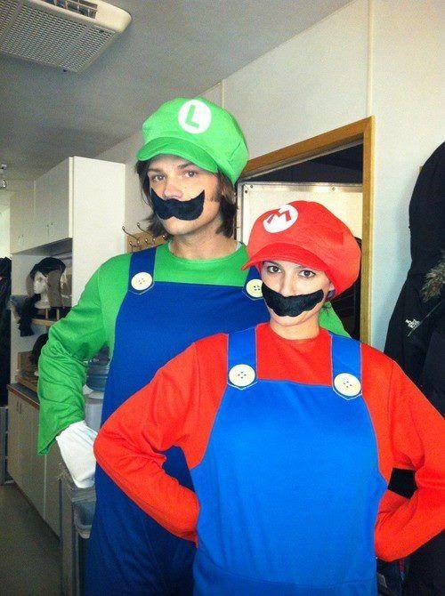 Gen and Jared \u003d Supernatural Pinterest - pregnant couple halloween costume ideas