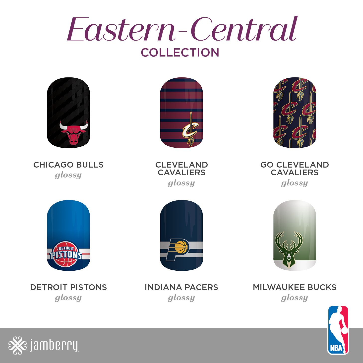 Jamberry, NBA, Basketball, Eastern0Central, Chicago Bulls, Cleveland ...