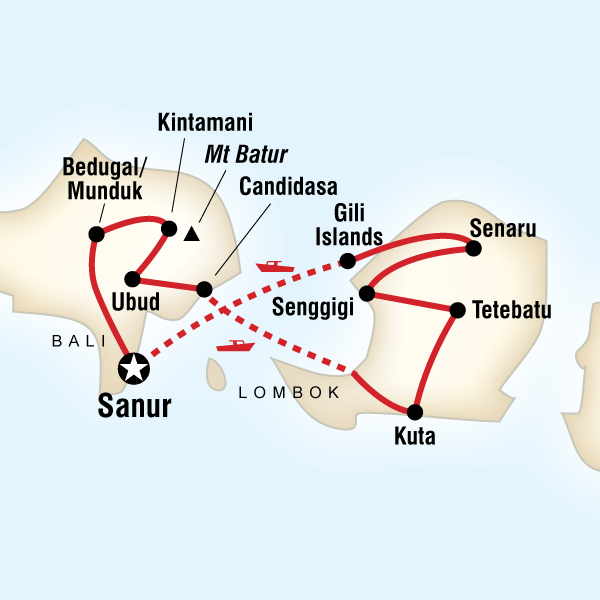 Check out the itinerary for GEEO's Bali and Lombok program!