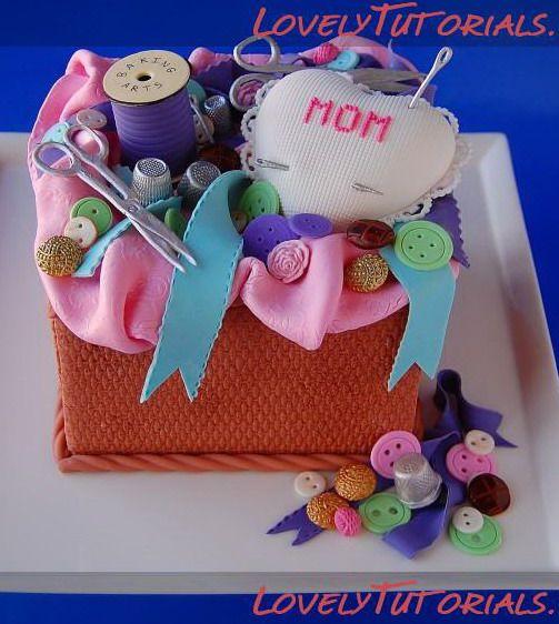 Knitting Cake Designs : Sewing knitting cake ideas decorating tutorials